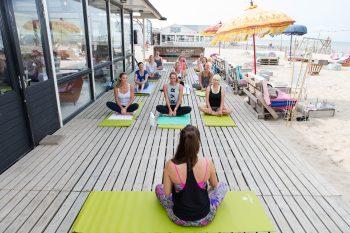 Marieclaire Sisley Yoga Event, 26 augustus 2016 Zandvoort