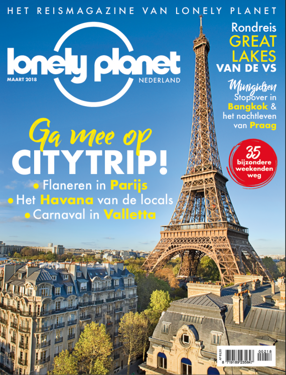 Lonely Planet mag maart 2018 editie 20 cover