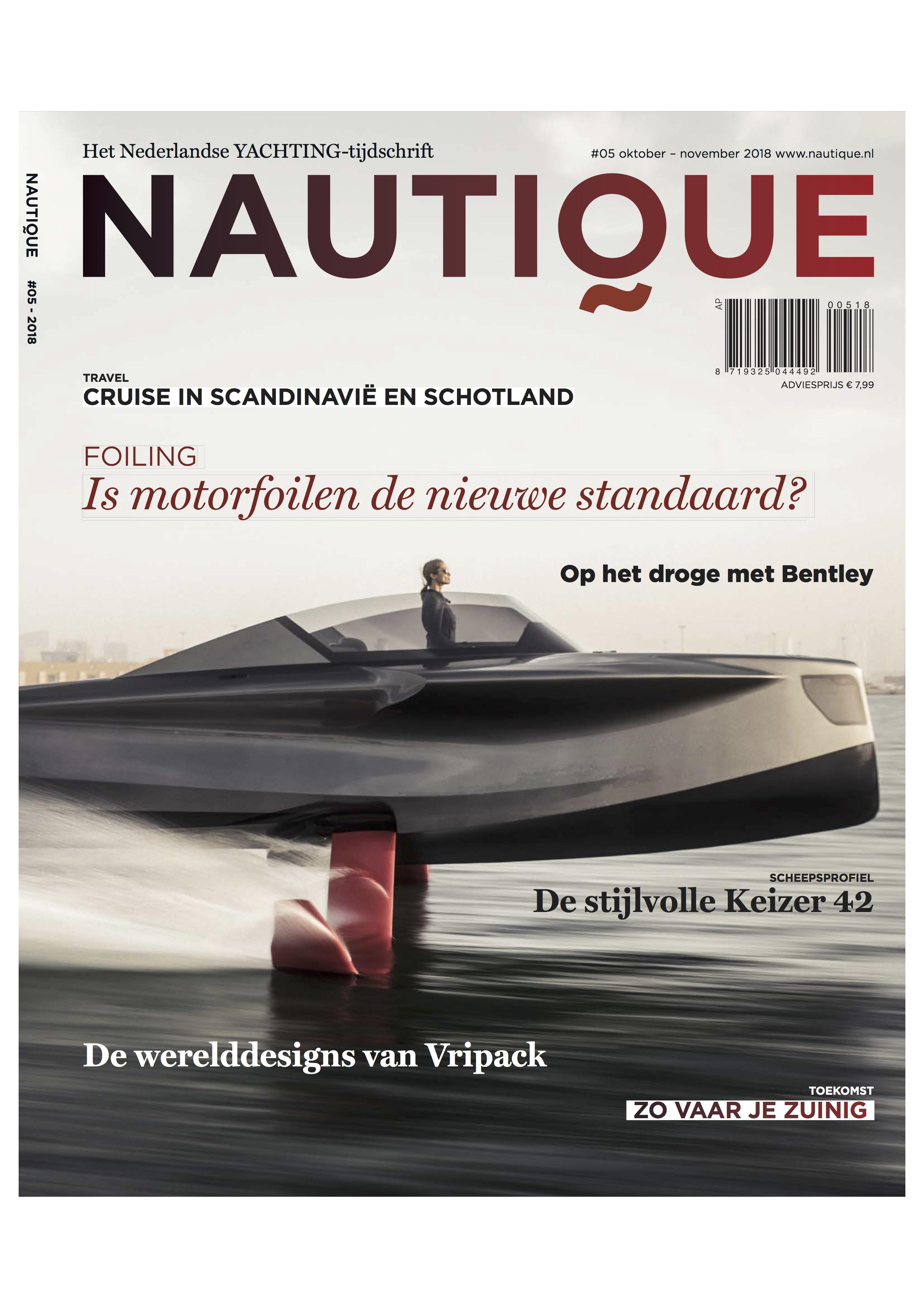 Afbeeldingsresultaat voor nautique magazine nederland cover